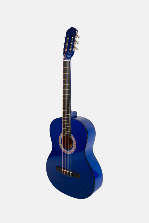 Guitarra española azul barata