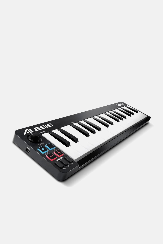 teclado controlador midi alesis qmini