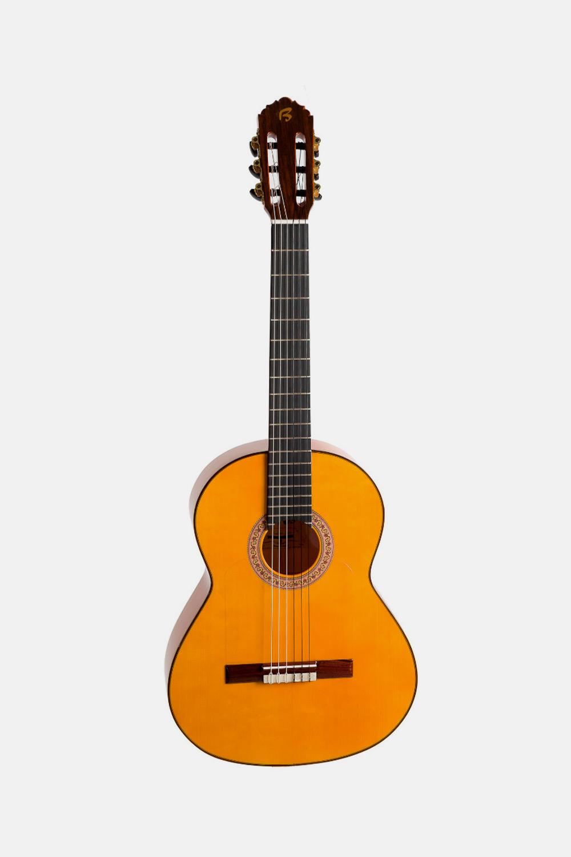 Guitarra flamenca hermanos bros amarilla b40f